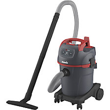 Universal general purpose wet and dry vacuum cleaner with accessories for coarse dirt