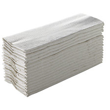 white, pack of 2560 towels
