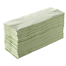 green, pack of 2560 towels