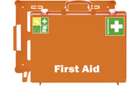 First aid case, DIN 13169 compliant