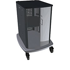 Computer equipment trolley