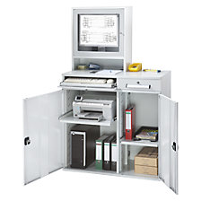 Computer workstation, sheet steel
