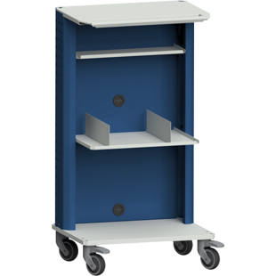 Laptop / equipment trolley