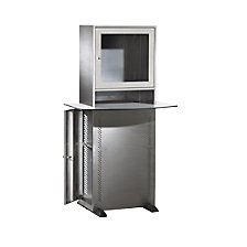 Stainless steel PC cupboard