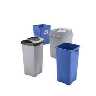Bidoni per raccolta differenziata in plastica m45924 for Contenitori in pvc per esterni