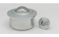 Solid ball unit with flange