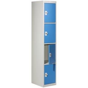 Clothes Locker With 4 Individual Lockers M68726 Kaiser