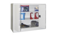 Cupboard with folding doors, height 1000 mm