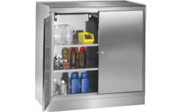 Stainless steel tool cupboard
