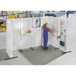 Paredes separadoras modulares industriales m1002438 - Paredes modulares ...