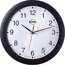 Reloj de pared de plástico ABS, Ø 300 mm