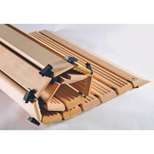 caillebotis en bois au m tre m64543 gaerner suisse. Black Bedroom Furniture Sets. Home Design Ideas
