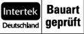 Tipo de construcción con homologación Intertek Deutschland