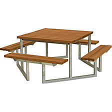 Picnic bench for 8 people