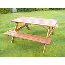 Picnic bench, square