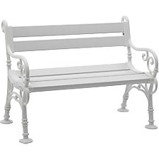 Seating bench, classic