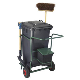 Waste bin dolly set