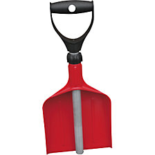 Telescopic hand shovel