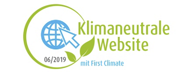 Klimaneutrale Website