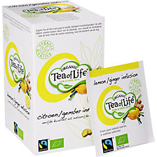 TEA OF LIFE Zitrone / Ingwer