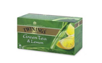 TWININGS Green Tea Lemon