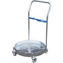 Drum dolly, zinc plated