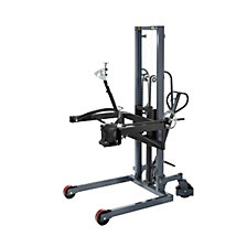 Drum lifting and tilting unit