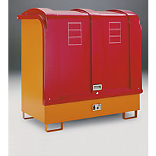 Hazardous goods storage unit