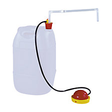 Small container pump