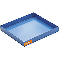 Steel sump tray for small containers
