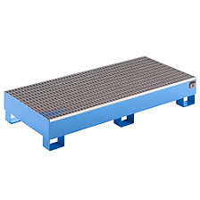 Sump tray made from sheet steel