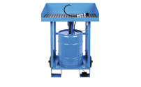 Mobile small parts cleaner, for 50 l drum size