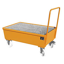 LxWxH 1200 x 800 x 570 mm, yellow orange RAL 2000