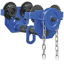 Chain hoist trolley