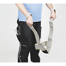 Safety lifting strap