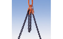 Adjustable crane chain