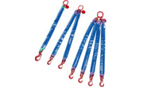 Round sling suspension set