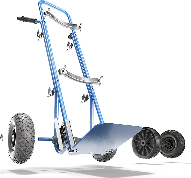 Modularna kolica za prijevoz vreća GO tvrtke EUROKRAFTpro