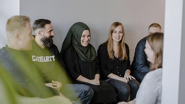 Mitarbeiter der KAISER+KRAFT Gruppe