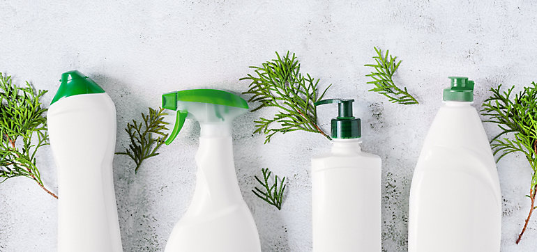 Environmentally conscious cleaning products for the office