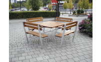 Ensemble bancs et table