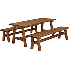 Kit banc et table