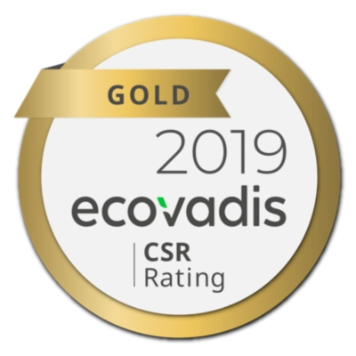 KAISER+KRAFT has gold status in its CSR-Rating at ecovadis.