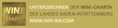 KAISER+KRAFT verpflichtet sich den Leitsätzen der WIN-Charta des Landes Baden-Württemberg
