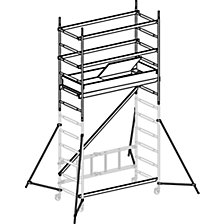 SAFE-T SOLUTION SC40 aluminium mobile access tower