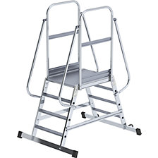 Aluminium mobile safety steps