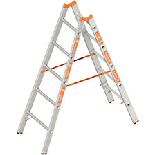 Double sided rung ladder