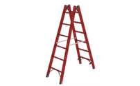 Solid plastic ladder