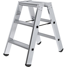 Step ladder, double sided