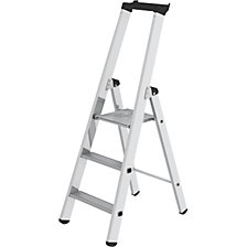 Step ladder, single sided